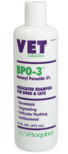 Bpo-3 Shampoo [Benzoyl Peroxide 3%] 16 oz By Vetoquinol USA