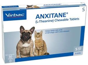 Anxitane S (Cats & Dogs <22#) 50mg B30 By Virbac
