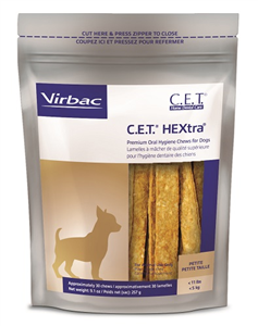 Cet Hextra Chews For Dogs (0 - 11Lbs) Petite B30 By Virbac