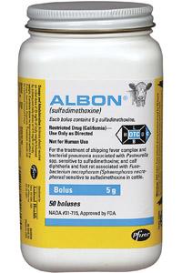 Albon Boluses 15gm B50 By Zoetis