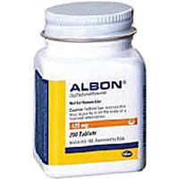 Albon Tabs 500mg B100 By Zoetis