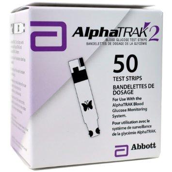 AlphaTRAK 2 Test Strips B50 by Zoetis