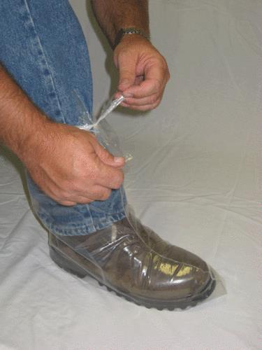 Boots Poly-Pro EZ Tie 6 Mil - Large (Up To Size 12) B50 By Agri-Pro Enterprises