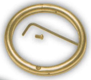 Bull Ring Brass 3.5 X3/8 Each By Agri-Pro Enterprises