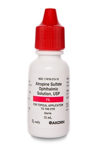 Atropine Sulfate Ophthalmic Solution USP 1% 15ml By Akorn