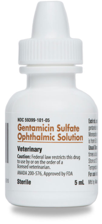 Gentamicin Ophthalmic Solution 0.3% 5ml By Akorn