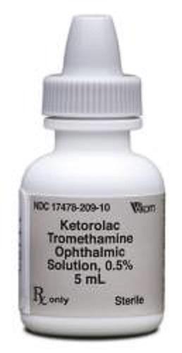 Ketorolac Opthalmic Solution 0.5% 5ml By Akorn