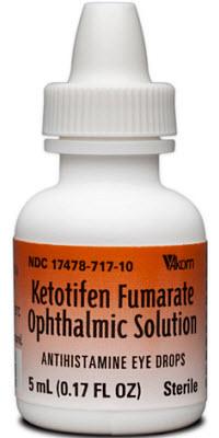 Ketotifen Ophthalmic Solution 5ml By Akorn