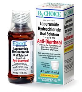 Loperamide Solution 1Mg/5ml 4 oz By Akorn