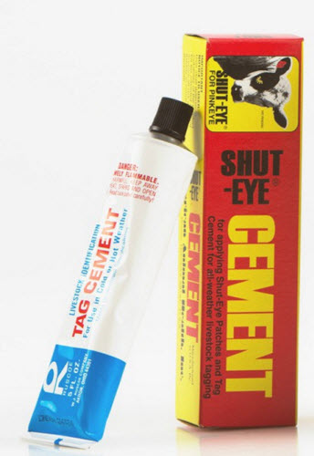 Shut Eye Cement Each By American Animal Health