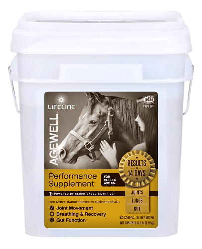 Lifeline Equine Agewell 30-Day 15Lb By American Protein