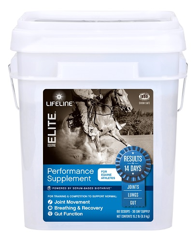 Lifeline Equine Elite 30-Day 15Lb By American Protein