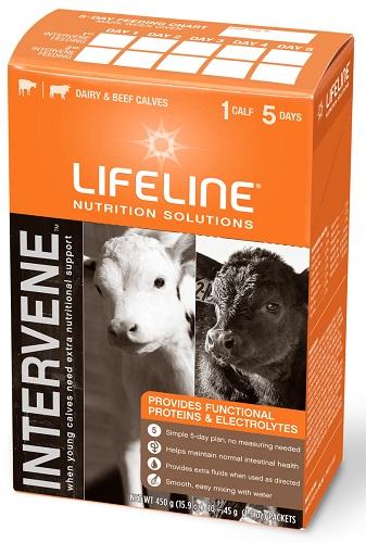 Lifeline Intervene For Scouring Calves B10 By American Protein