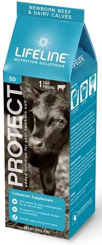 Lifeline Protect For Beef & Dairy Calves 454gm By American Protein