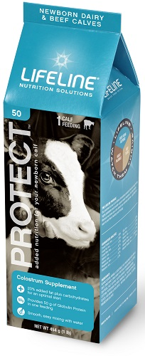 Lifeline Protect For Dairy Calves 454gm By American Protein