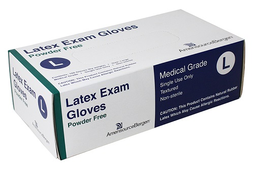 Exam Glove Powder Free Latex - Large B100 By Amerisourcebergen