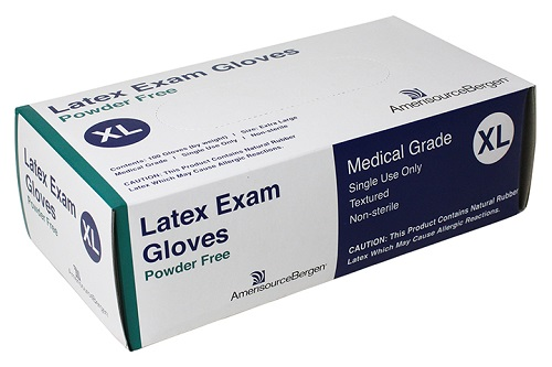 Exam Glove Powder Free Latex - XLarge B100 By Amerisourcebergen