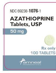 Azathioprine Tabs 50mg B100 By Amneal Pharmaceuticals