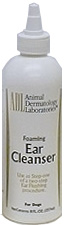 Ear Cleanser Foaming Antiseptic - Step 1 8 oz By Animal Dermatology Labs