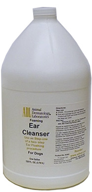Ear Cleanser Foaming Antiseptic - Step 1 Gal By Animal Dermatology Labs