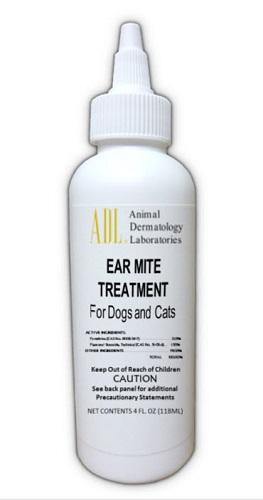 Ear Mite Treatment 4 oz 4 oz By Animal Dermatology Labs