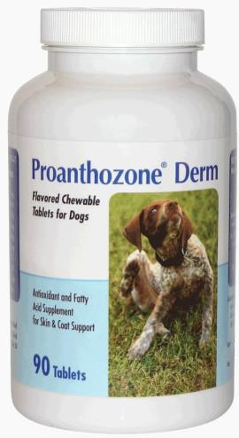 Proanth oz one Derm For Dogs B90 By Animal Health Options