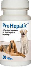 Prohepatic Liver Support [For Large Dogs] B60 By Animal Health Options