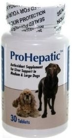 Prohepatic Liver Support [For Medium & Large Dogs] B30 By Animal Health Options