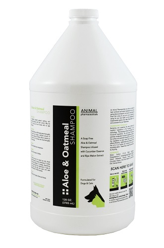 Aloe & Oatmeal Shampoo Gal By Animal Pharmaceuticals
