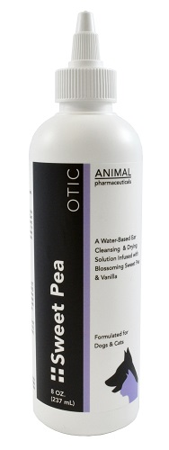 Sweet Pea Otic 8 oz By Animal Pharmaceuticals Item No.:Vet-OTC-MW 064492<Br><Br>Manufacturer:Animal Pharmaceuticals<Br>MW SKU:064492<Br>Manf Code:953002<Br>Rx:No<Br>Human Label:No