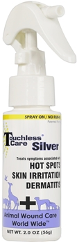 Touchless Care Silver Spray 2 oz By Animal Wound Care Worldwide