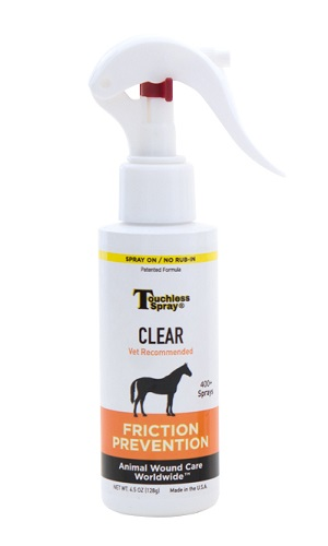 Touchless Spray Clear 4.5 oz By Animal Wound Care Worldwide