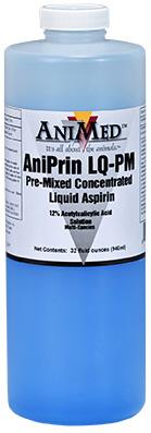 Aniprin Lq-PM Aspirin 32 oz By Animed