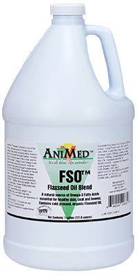 Fso Flax Seed Oil Gal By Animed