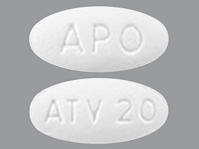 Atorvastatin Tab 20mg B90 By Apotex