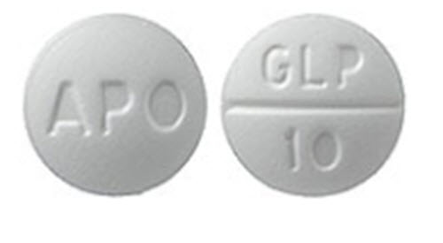 Glipizide Tab 10mg B100 By Apotex