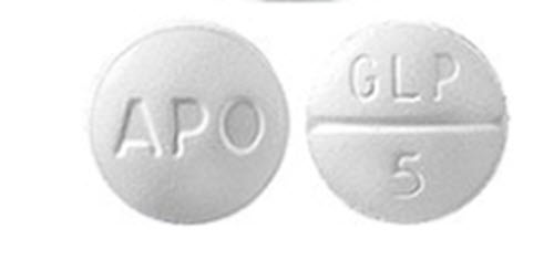 Glipizide Tab 5mg B100 By Apotex