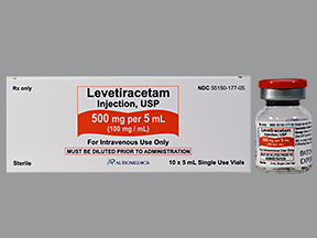 Levetiracetam Inj 500Mg/5ml B10 By Auromedics Pharma