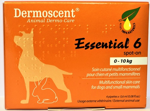 Essential 6 Spot-On Skin Care For Dogs Small [1-22Lbs] B4 By Aventix
