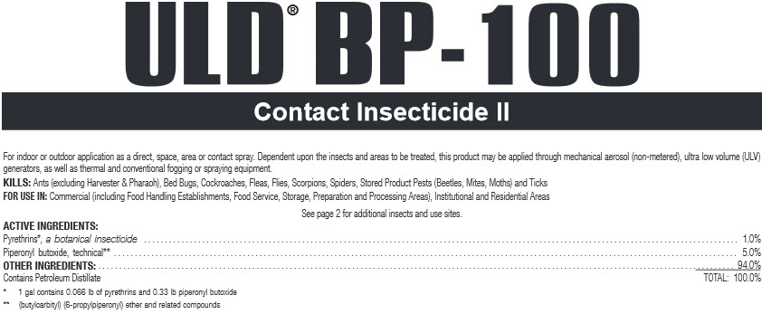 Uld Bp-100 Contact Instecticide Gal By Basf