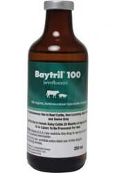Baytril 100 Inj Non-Returnable 500cc By Bayer