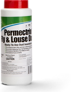 Permectrin Fly And Louse Dust No Secondary Shipments 2Lb By Bayer