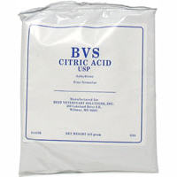 Citric Acid 410gm Sold By The Case 30 X 410gm B30 By Best Veterinary Solutions