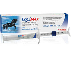 Equimax 6.42gm Tube By Bimeda Pet