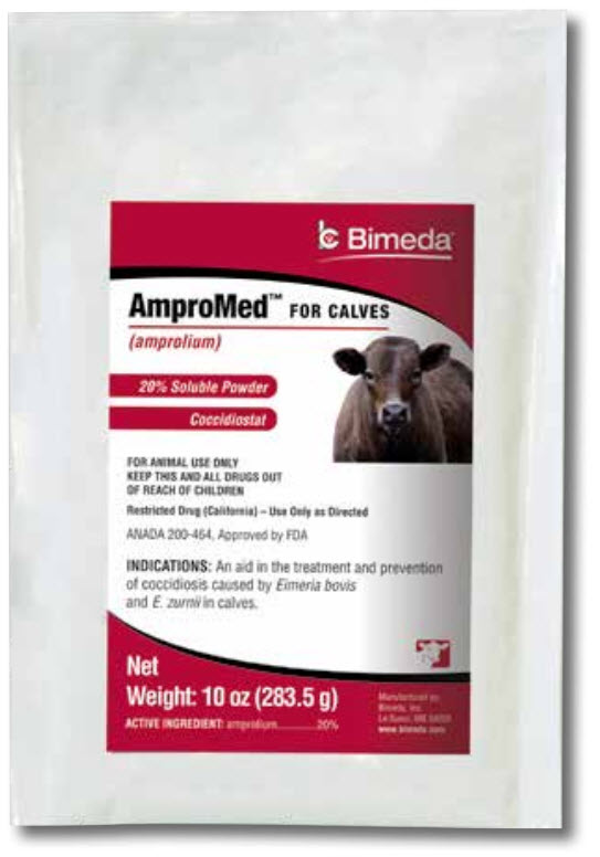 Ampromed Soluble Powder 20% 10 oz By Bimeda Pet