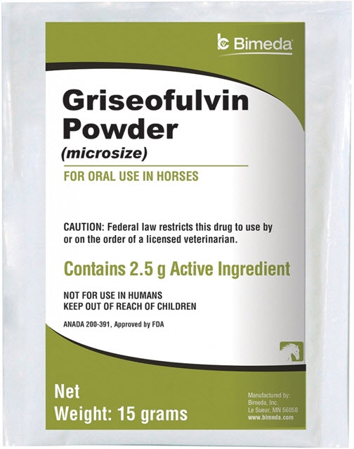 Griseofulvin Powder 15gm 15gm By Bimeda Pet