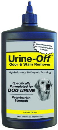 Urine Off Dog & Puppy With Carpet Injector Cap 32 oz By Bio-Pro