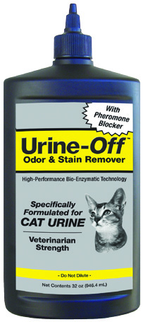 Urine Off Cat & Kitten With Carpet Injector Cap 32 oz By Bio-Pro