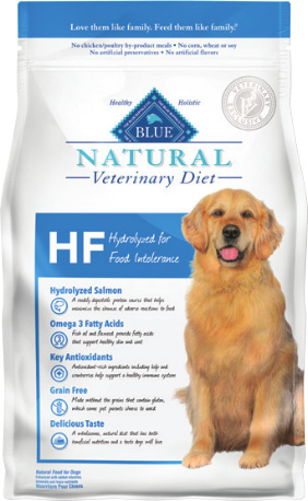Natural Veterinary Diet Canine Adult - Hf (Hydrolyzed) W/ Salmon 6Lb By Blue Buf