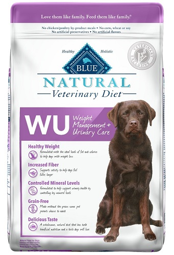 Natural Veterinary Diet Canine Adult - Wu (Weight Management & Urinary Care) W/